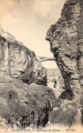 Algérie CONSTANTINE Les Gorges Du Rhumel - Constantine