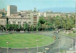 Heroes Square - Bus Ikarus - Roundabout - Tbilisi - 1980 - Postal Stationery - AVIA - Georgia USSR - Unused - Géorgie