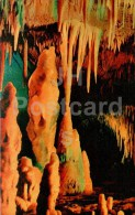 Stalactite - Stalacmite - New Athos Cave - Novyi Afon - Abkhazia - 1978 - Georgia USSR - Unused - Géorgie