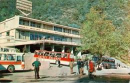 Entrance To The Caves - Bus Ikarus - New Athos Cave - Novyi Afon - Abkhazia - 1978 - Georgia USSR - Unused - Géorgie