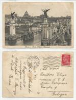 ROMA (230) - Ponte Vittorio Emanuele - Fp/Vg 1931 - Ponti