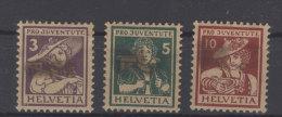 Schweiz Michel No. 130 - 132 * ungebraucht