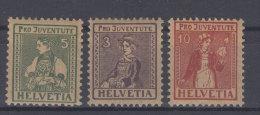 Schweiz Michel No. 133 - 135 * ungebraucht