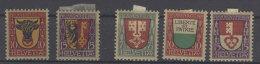 Lot Schweiz Michel No. 143 - 144 , 149 - 151 * ungebraucht