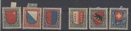 Lot Schweiz Michel No. 153 - 155 , 172 - 174 * ungebraucht