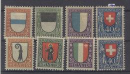 Lot Schweiz Michel No. 175 - 178 , 185 - 188 * ungebraucht