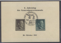 Generalgouvernement Karte 1941
