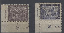 SBZ Michel No. 198 - 199 ** postfrisch DZ / gefaltet