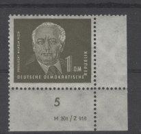 DDR Michel No. 253 * ungebraucht gehangen Dv Druckvermerk