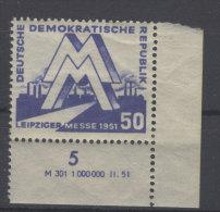 DDR Michel No. 283 ** postfrisch DV Druckvermerk