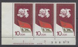 DDR Michel No. 2123 ** postfrisch DV Druckvermerk