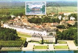 16785. Tarjeta Maxima ROMBOUILLET (France) 1980. Le Chateau - Cartas Máxima