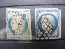 FRANCE - Lot De 2 X N° 4 - A Voir - P 16423