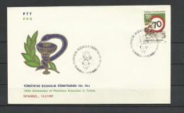 Turkey 1989 - Medicine, FDC - Medicina