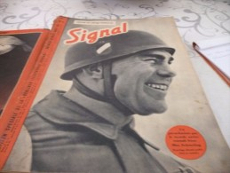 14 Journaux SIGNAL Français 1941/1942/1943/1944 - German