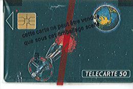 Télécarte Lollini Conquette De L´espace Par La Philatelie  - Neuve  Sous Blister -     Rare - Francia