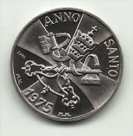 Vaticano - Medaglia Anno Santo 1975, - Gettoni E Medaglie