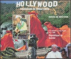 Guinée 1998. Héros De Western, Roy Rogers. Jean-Paul II, Serpent
