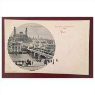 Paris  Exposition Universelle 1900  Vue Sur Le Trocadéro  R.&.J.D. 10079 - Exhibitions