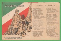 Vicenza Tricolore 1848 / 1915 Timbro Croce Rossa Posto Soccorso Di Mestre Franchigia X Tolmezzo - Venezia
