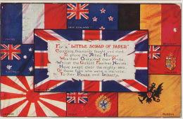 WWI Allied Russia Tsar Japan India Australia NewZealand France Canada Belgium UK Canada Flags Wolverhampton - Russia