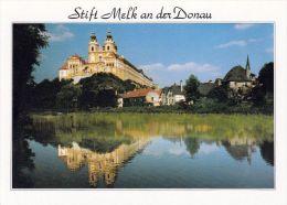 1 AK Niederösterreich * Stift Melk Gegründet 1089 Und Seit 2000 UNESCO Weltkulturerbe - Melk