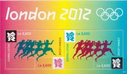 Sierra Leone MNH Olympic Games Sheetlet - Summer 2012: London