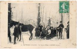 Les Sports D' Hiver A SOUEIX - Attelage - Cachet Ambulant  (84405) - Other Municipalities