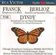 Franck Berlioz D'Indy - Classical