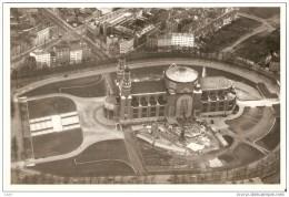 Belgique  - Basilique Koekelberg En Construction -  Vers 1950 - RARE Vue Aérienne De Bruxelles - Plaatsen
