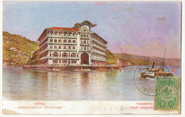 "Hotel "" Meguerditch Tokatlian "" Armenie Therapia Haut Bosphore Used From Therapia To Castelsarrazin - Turquie"