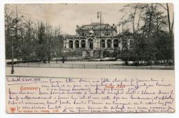 Allemagne --HANNOVER--1901--Neues  Haus ,n° 11621  éd Dr Trinkler Co--Beau Cachet LE PONTOUVRE-Charente-France - Hannover