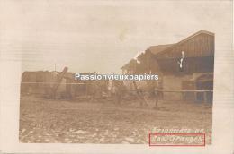 CARTE PHOTO ALLEMANDE   LES GRANGES (CHATEL CHEHERY)        (ALBUM ARGONNE IR 67) - Other Municipalities