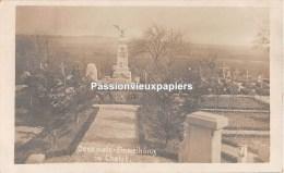 CARTE PHOTO ALLEMANDE   CHATEL CHEHERY DENKMAL Monument   (ALBUM ARGONNE IR 67) - Other Municipalities