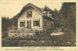 88 GRANGES SUR VOLOGNE / Villa Ker Marc, Pension De Famille / - Granges Sur Vologne