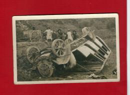 CARTE PHOTO  ACCIDENT AUTOCAR DE DION BOUTON N°1671 F? 5 - Bus & Autocars