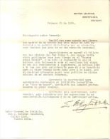 CARTA DE EUGEN MILLINGTON DRAKE AL GENERAL J. ESTEBAN VACAREZZA DONDE EN PARTE DEMUESTRA AL CONTRARIO A LO QUE DICEN MUC - Documents Historiques