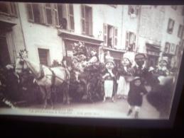 DIAPOSITIVE PHOTO DE CARTE POSTALE ANCIENNE - COGOLIN LA MI CAREME(LOTAB29) - Diapositives