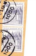 Berlin 532 I, Neuer Plattenfehler/Abart Auf Briefstück Mit Berlin-Stempel - Berlin (West)