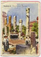 VECCHIA COPERTINA QUADERNO PICCOLE E GIONI ITALIANE OPERA BALILLA ILLUSTRATORE RAIMONDI FASCISMO MUSSOLINI - Old Paper