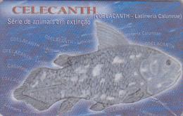 Rare Télécarte MOZAMBIQUE NSB - POISSON - COELACANTHE - COELACANTH FISH MINT IN BLISTER Phonecard - FISCH  579 - Mozambique