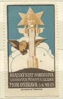 ERINNOFILO PRAGA MOR.OSTRAVA 5.6.VII 1913 - Erinnofilia