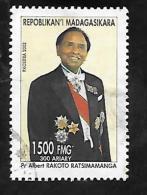 TIMBRE OBLITERE DE MADAGASCAR DE 2002 N� MICHEL 2595