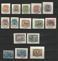 Belgie OBP° 135-149 - 1915-1920 Alberto I