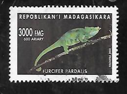 TIMBRE OBLITERE DE MADAGASCAR DE 2002 N� MICHEL 2592