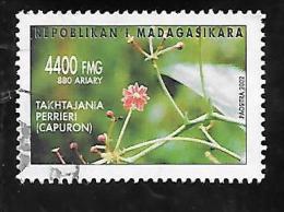 TIMBRE OBLITERE DE MADAGASCAR DE 2002 N� MICHEL 2593