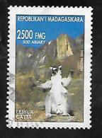 TIMBRE OBLITERE DE MADAGASCAR DE 2002 N� MICHEL 2591