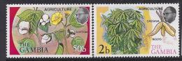 AGRICULTURA - GAMBIA 1973 - Yvert #282/83 - MNH ** - Agricultura