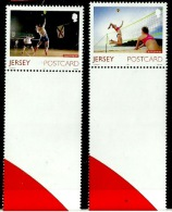Jersey 2015 - Island Games (MNH) Playing Net - Jersey
