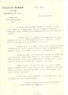DOUDEVILLE CHARLES SIMON NOTAIRE 18 JUILLET 1927 - Documenti Storici